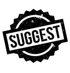 suggest rubber stamp vector image
