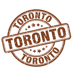 Toronto stamp vector