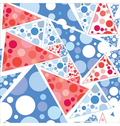 triangles seamless vector image