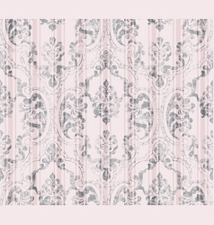 Vintage decor ornamented pattern victorian vector