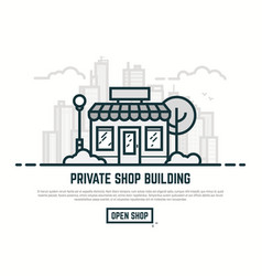 line store vector image
