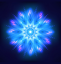 abstract shining cosmic star vector image vector image
