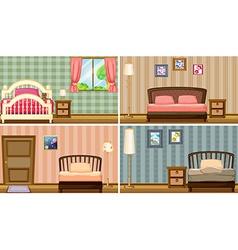 Bedrooms vector