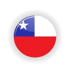 Chile icon circle vector image