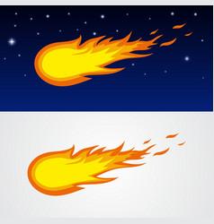 Comets caricature vector