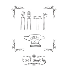 Tool Smithy One vector image
