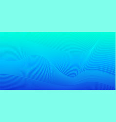 Turquoise blue gradient abstract background vector