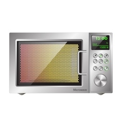 board microwave oven vector image vector image