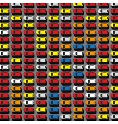 Parking lot top view 05 A vector image vector image