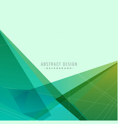 Abstract background with geometric shapes and vector