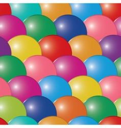abstract bubbles multicolor background seaml vector image vector image