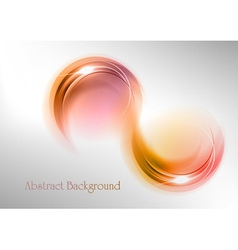 abstract shape smoke vector image