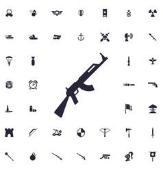 Ak47 icon vector