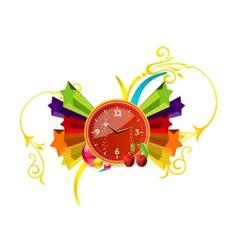 clock pop vector image