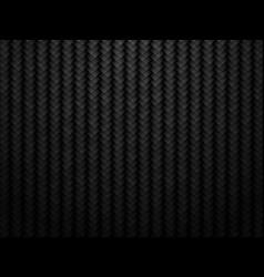 dark carbon fiber background vector image