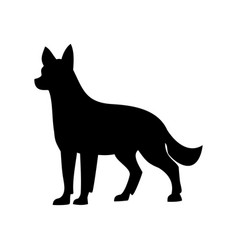 Dog shepherd vector