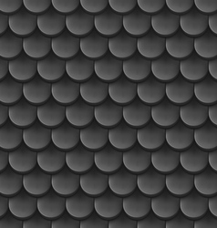 Roof tile background vector