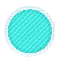 round swimming pool vector image
