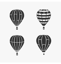 Balloon Flying Set vector image vector image