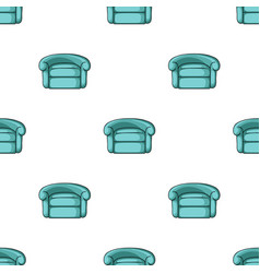 armchair icon in cartoon style isolated on white vector image