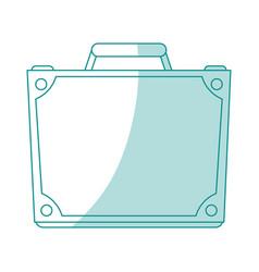 Briefcase icon design vector