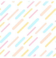dashed abstract background seamless pattern pastel vector image