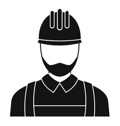 electric man icon simple style vector image