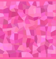 Geometric abstract irregular mosaic background vector