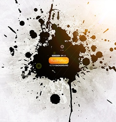 Grunge Splatter Background vector image