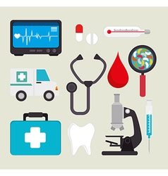 Medical healthcare design vector image