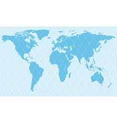 Netlike map vector
