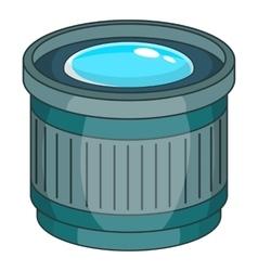 Objective icon cartoon style vector