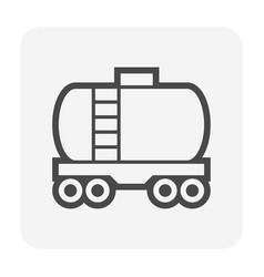 oil gas tank icon vector image