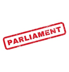 Parliament Rubber Stamp vector