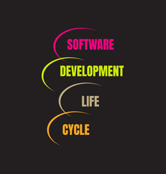 Software development life cycle software vector