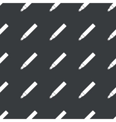Straight black ink pen pattern vector image