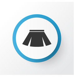 skirt icon symbol premium quality isolated vector image