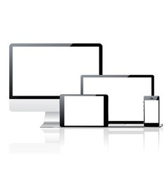 Device set vector image vector image