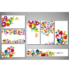 cards vector image vector image