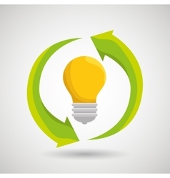 renewable energy isolated icon design vector image