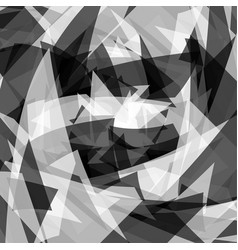 Abstract texture with edgy overlapping shapes vector