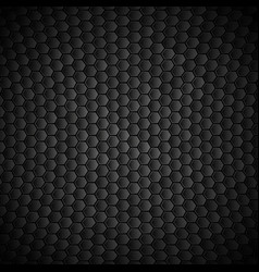 geometric polygons texture black metallic vector image