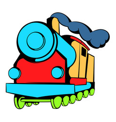 Locomotive icon icon cartoon vector