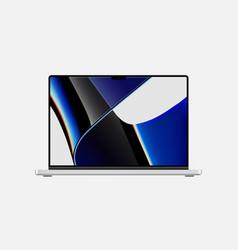 New apple macbook pro vector