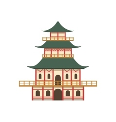 Pagoda Japanese Culture Symbol vector