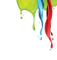 color 046 vector image
