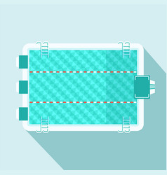 sport swimming pool vector image vector image