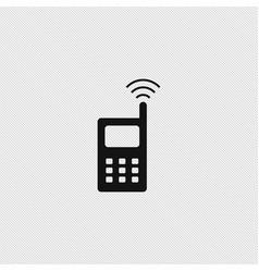 wireless icon simple vector image