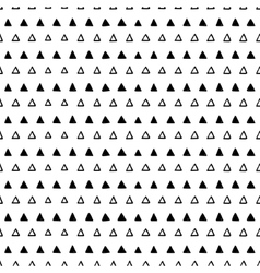 Abstract seamless triangles pattern vector image vector image