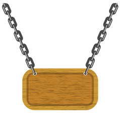 brown wood banner clean wooden texture vector image